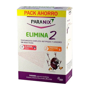 PARANIX PACK ELIMINA2 DUO SPRAY + PROTEC