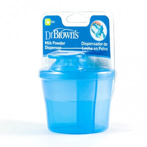 DISPENSADOR LECHE POLVO DR BROWN´S AZUL