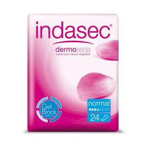 INDASEC NORMAL DISCREET 24 UND. 150 ML.
