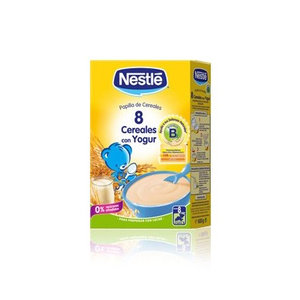 NESTLE 8 CEREALES YOGUR 600 G.