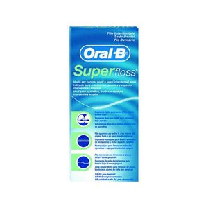 SEDA DENTAL SUPER FLOSS ORAL-B 50 U.I.