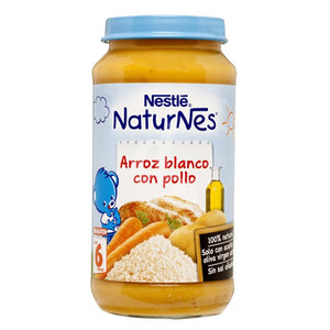NESTLE TARROS ARROZ BLANCO Y POLLO 250GR
