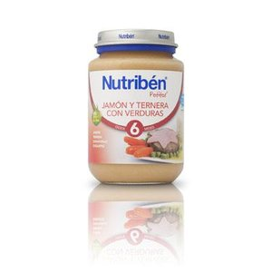 NUTRIBEN JUNIOR JAMON TERNERA VERDURAS